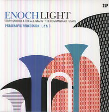 Persuasive Percussion 1 2 & 3 - Enoch Light/Terry Snyder & Th (2013, Vinyl NEUF)