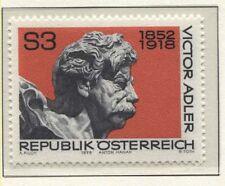 Österreich Austria 1589  60. Todestag  Victor Adler, Politiker  - 1978 **