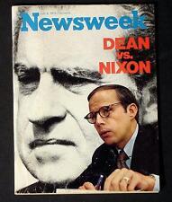 NEWSWEEK Magazine Julio 9 1973 DEAN VS NIXON Rara No label