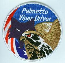 FIGHTING FALCON F-16 JET FIGHTER SWIRL PATCH COLLECTIONS: Palmetto Viper Driver