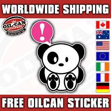JAPANESE PANDA STICKER EXCLUSIVE DESIGN JDM drifting UK