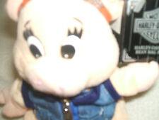 Harley Davidson Pig Bean Bag Plush Punky 1998 Item # G86003