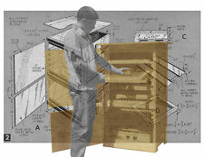 Build a Portable SMOKEHOUSE incl cooling notes Printed Plan & building Notes