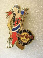 NEW YORK,Hard Rock Cafe Pin,Sexy Hockey Girl