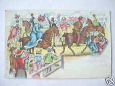 3271 Litho AK Zirkus Wandsbeck er Markt Reiter 1909