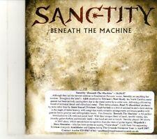 (DR529) Sanctity, Beneath The Machine - 2007 DJ CD