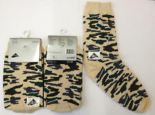 3 Pairs Ladies Camouflage Army Camo Military Cotton Rich Everyday Socks Size 4-7