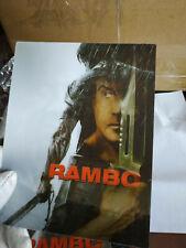 JOHN RAMBO 4 - Multi Image Lenticular 3D Flip Magnet Cover FOR steelbook