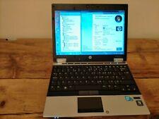 "HP 2540p 12"" Laptop, Core i7 2.13, 4GB RAM, 160GB HDD, Intel HD Graphics 32 bit"