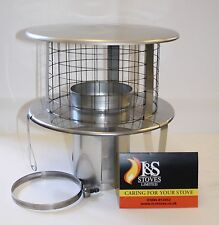 Bird Guard Suspension Cowl for Chimney Liners