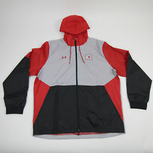 Utah Utes Under Armour Jacket Men's Gray/Black New with Tags