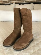 Ugg Abree shearling-lineed tall suede boots size 7 Original