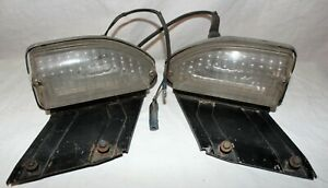 69 70 1969 1970 FORD MUSTANG MACH1 BOSS PARKING LIGHT PARK LAMP ASSEMBLY LH RH