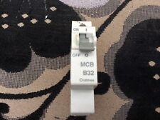 Crabtree Starbreaker MCB 32 Amp Single Pole Breaker Type B 32A 61/B32 Series 1