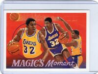 1991-92 UPPER DECK BASKETBALL CARD # 29 - HOF MAGIC JOHNSON - LOS ANGELES LAKERS