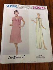 Vogue 1914 Uncut Sewing Pattern, Size 8, Leo Narducci, Misses' Dress, American