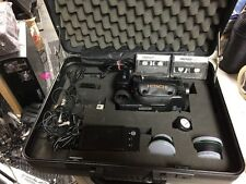Hitachi VM-E520A 8mm Camcorder W/ Remote Charger Flash 2 Battery Bag & More