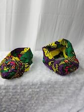 Pre-Styled African Print,African Head Wrap,Ankara Bun Turban Pre-Tied Mom Me Hat