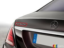 NEW GENUINE MERCEDES BENZ S CLASS W222 REAR TRUNK MAYBACH LOGO EMBLEM BADGE