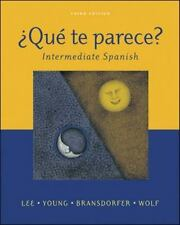 Que Te Parece?: Intermediate Spanish