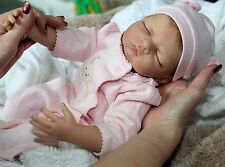 """BEARY SWEET""- Adorable 19 Inch Collectors Life Like Baby Girl Doll + 2 Outfits"