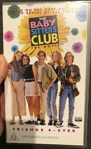 The Baby-Sitters Club The Movie VHS VIDEO TAPE (1995 family comedy drama movie)