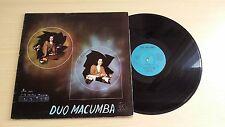 DUO MACUMBA - NOI VOI E LA NOSTRA MUSICA - LP 33 GIRI GATEFOLD - ITALY PRESS