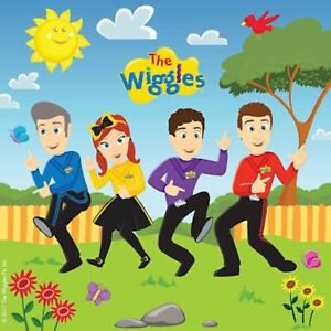 The Wiggles Party Supplies Luncheon Party Napkins - Pack of 16 (CT)