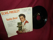 Elvis Presley Teddy Bear / Loving You Vinyl 45 RPM