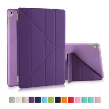 Origami Slim Magnetic Leather Smart Cover Case For Apple iPad 2 3 4 Air Mini Pro