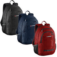 Caribee Nile 30LT Padded Laptop Sleeve Backpack Daypack Assorted Colors