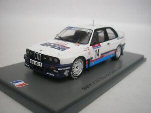BMW M3 E30 #14 Tour De Corse 1987 Marc Duez 1/43 spark SF149 New