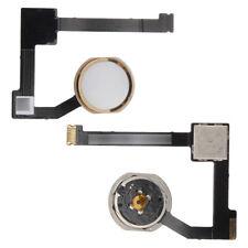 Para Apple iPad Air 2 Home Botón Key + Flex Cable Assembly Oro A1566 A1567