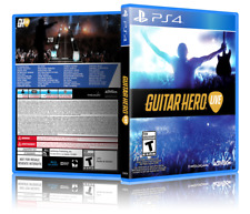 Guitar Hero Live - Replacement PS4 Cover and Case. NO GAME!!