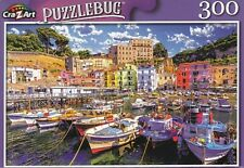 New Puzzlebug 300 Piece Jigsaw Puzzle ~ Small Fishing Boats at Harbor