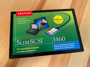 Adaptec Slim SCSI 1460 D PC Card PCMCIA Adapter