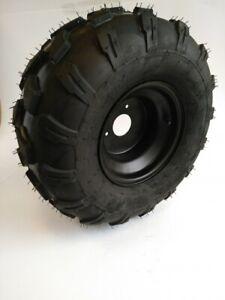 Komplettrad Felge Reifen 3-Loch 19x7-8 schwarz Offroad Bereifung vorne links