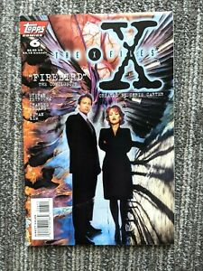 The X-Files #6 (Topps 1995) Sci-fi TV Comic Adaptation - 1st Series