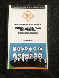 INTRODUZIONE ALLA CONTABILITÀ Guida pratica per imprenditori - FRANCOANGELI 1995