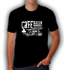 CAFE Racer T Shirt Rocker personalizzato BSA NORTON PAPA 'Moto Vintage Biker