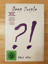 Deep Purple ★ Now What ?! ★ Limited Edition Box Set ★ CDs - DVD ★