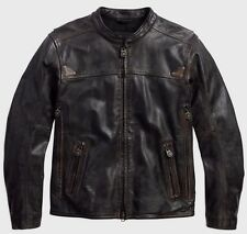 Harley Davidson Men's Willie G. Limited Edit. Buffalo Leather Jacket.US XL. New