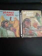 Lot Of 2 Vintage Planet Of The Apes Coloring Books