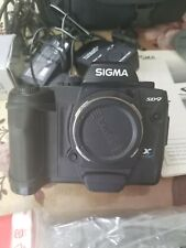 Sigma Sd-9 Digital Camera In carry bag complete with accessories.