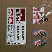 Marlboro Decals für Mitsubishi Lancer EVO VI, Portugal '01 für Ixo-Altaya 1:43