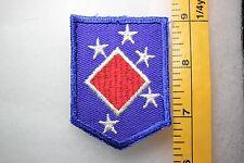 US WW2 USMC Marine Corps 1st MAC Headquarters Small Twill Patch. MC145