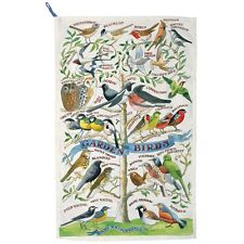 EMMA BRIDGEWATER GARDEN BIRDS TEA TOWEL NEW WITH TAGS - NEW POST WORLDWIDE
