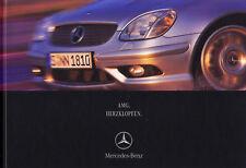 Mercedes AMG c32 e55 s55 CLK 55 SLK 32 prospectus brochure livre 2001/64