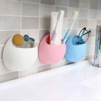 Snail Suction Cup Toothbrush Holder Bathroom Sucker Wall Random Color Plsei