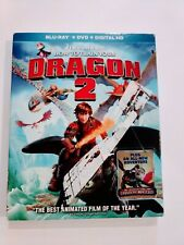 How to Train Your Dragon 2 - Blu Ray/DVD, 2014, Free 1 Day Shipping!